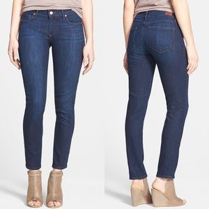 New! PAIGE Dixie Skyline Ankle Peg Skinny Jeans 28